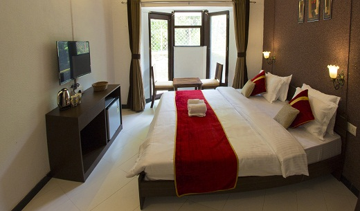 2bedroom hall at Velvet County Resort & Spa in Khandala